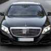 Mercedes benz S klasės long 2016 m. auto nuoma su vairuotoju